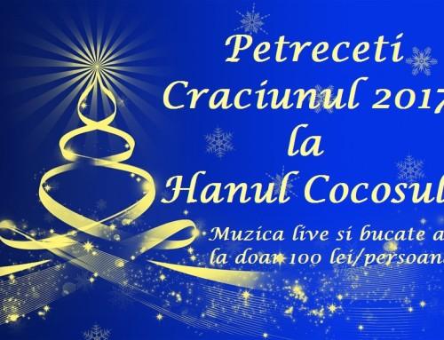 Petrecere de Craciun – 2017 la Hanul Cocosul!